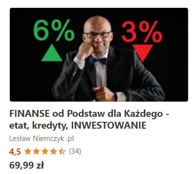 Już wkrótce mój nowy kurs finansowy na Udemy.com!