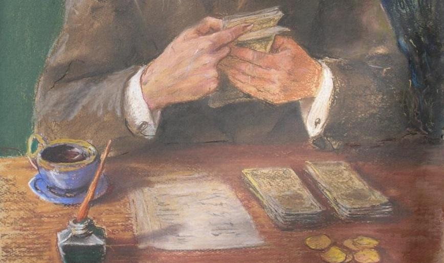 Od obrazu Żyda liczącego pieniądze do książki o finansach i biznesie