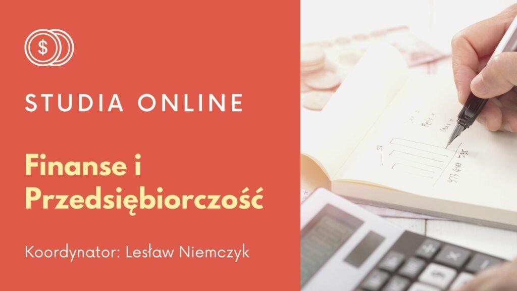 """Program nieformalnych studiów online """"Finanse i przedsiębiorczość"""""""