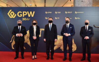 30 lat historii Giełdy Papierów Wartościowych w Warszawie w pigułce